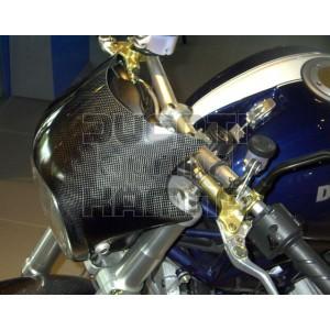Kohlefaser Fahrtwindschutz Ducati Monster