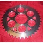 Aluminium Kettenräder Ducati 848/1098, 520 und 525