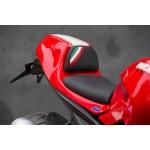 Sitzbank Echt-Leder mit Trikolore für Ducati Monster 1100 / 1100 EVO