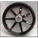 Vorderrad Black Mamba, 7 Speiche Ducati