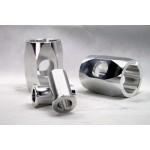 NCR Replica Aluminium Klemmstücke / Klemmungen Hinterradachse - Köwe