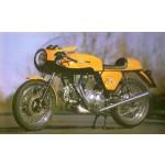 Ducati 750 SS Rundmotor Rahmen
