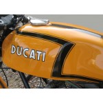 Restourations-Aufkleber Ducati 750 Sport 1972
