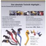 Pazzo Racing Brems- und Kupplungshebel
