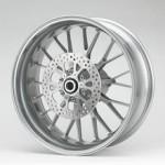 PVM 10 Speichen Radsatz Aluminium lackiert