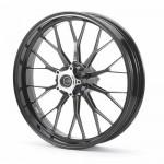 PVM 10 Speichen Radsatz Aluminium eloxiert