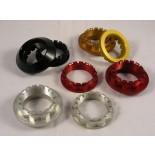 Aluminium Hinterradmuttern für 1199 Panigale
