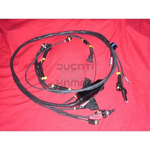 wiring harness racing for all p08 computers ducati aprilia tuning k 228 mna