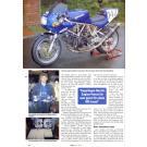 MCM-3/96-Schwedens Motorradzeitung-Werkstattreport --- Bericht des Schwedischen Magazins MCM (Motor Cykel Magasinet). Heft Nr. 4, 1996.