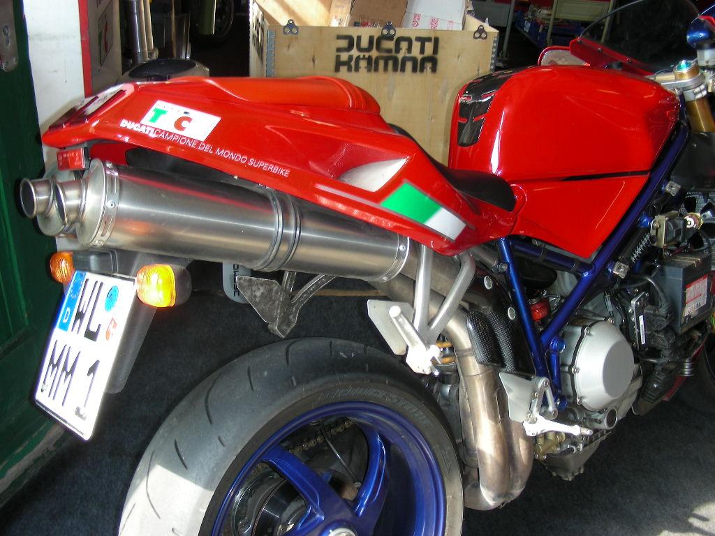 Werkstatt: Abstimmung Ducati 998 S   Ducati & Aprilia-Tuning Kämna