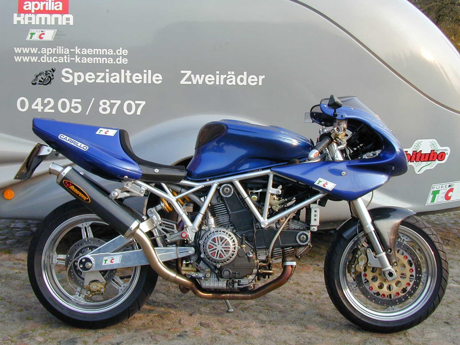 Track Tank For Ducati Monster