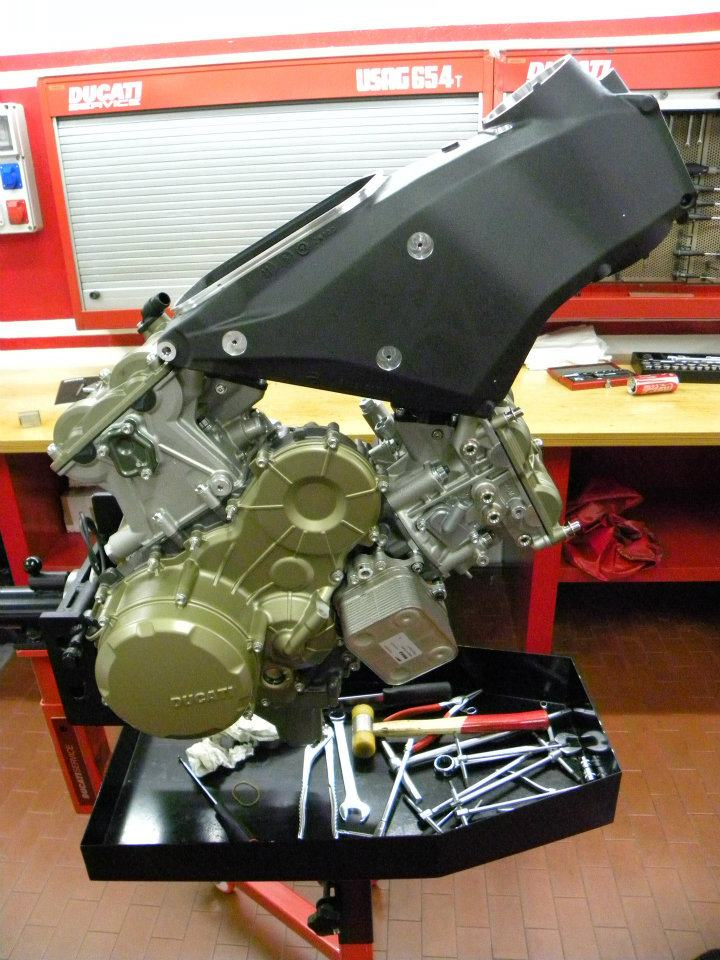 Ducati 1199 Panigale Motor | Ducati & Aprilia-Tuning Kämna