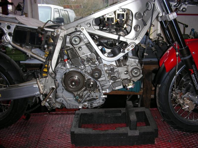 Werkstattbericht: Cagiva Elefant Motorumbau | Ducati & Aprilia ...