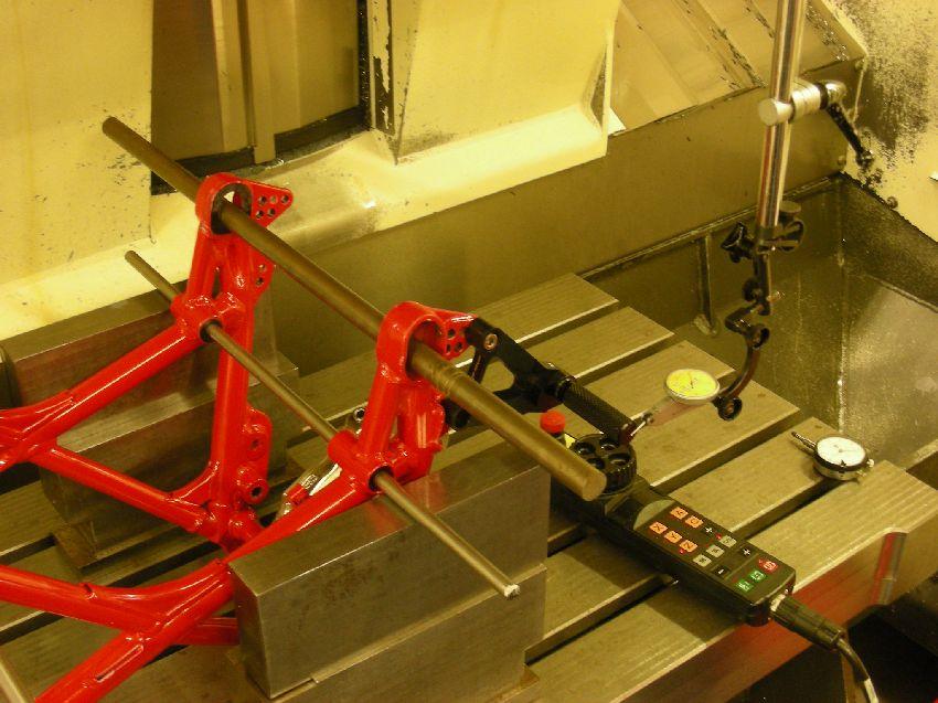 Werkstattbericht: Rahmenkonstruktion | Ducati & Aprilia-Tuning Kämna