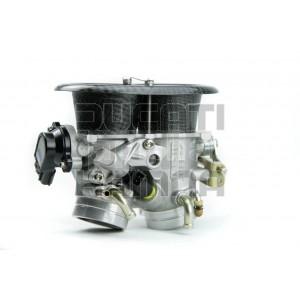 Drosselklappenkörper/Drosselklappe mit Carbon Trichter - 60mm Aprilia RSV MILLE TUONO