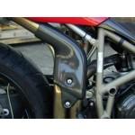 Auspuffhitzeschutz Carbon 748-996 lange Version