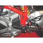 MR EVO Fußrastenanlage Ducati 1098
