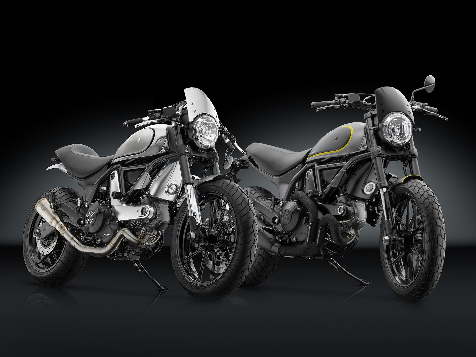 Monster Ducati  Mirrors